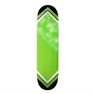 Shape De Skate 20cm Costume customizável da plataforma do verde do