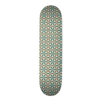 Shape De Skate 20cm Flor da vida - teste padrão do selo - BG 1