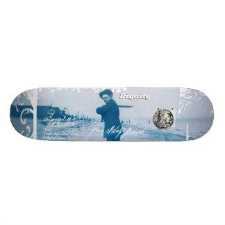Shape De Skate 20cm Meu azul do menino