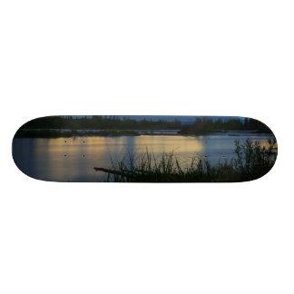 Shape De Skate 20cm Por do sol da meia-noite de Denali