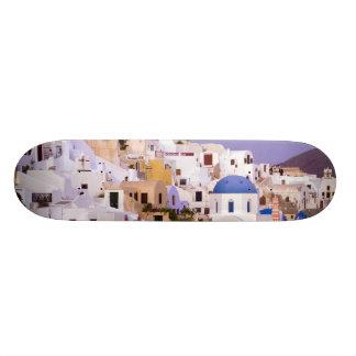 Shape De Skate 20cm Por do sol no óleo, Santorini 2