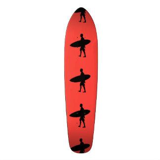 Shape De Skate 20cm Prancha do carregando do homem