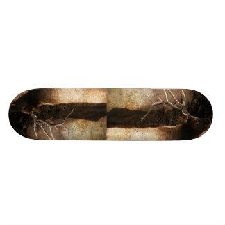 Shape De Skate 21,6cm Alces rústicos do touro da montanha da floresta da