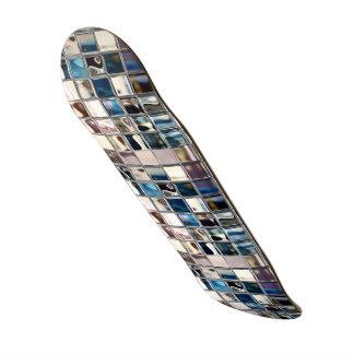 Shape De Skate 21,6cm Arte moderna do mosaico do fulgor das