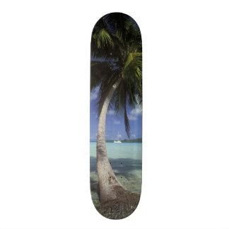 Shape De Skate 21,6cm Bora Bora, Polinésia francesa Mt. Otemanu visto
