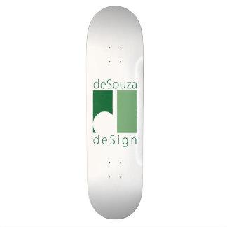 Shape De Skate 21,6cm o conselho da equipe de design do deSouza