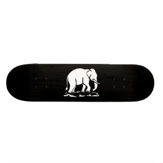 Shape De Skate 21,6cm Sinal Trekking do elefante tailandês dos elefantes