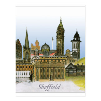 sheffield - South Yorkshire, fernandes tony Cartão Postal