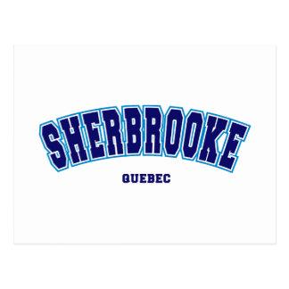 Sherbrooke escolar cartão postal