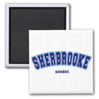 Sherbrooke escolar ímã quadrado