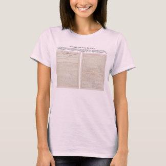Sherman ato o 2 de julho de 1890 antitruste t-shirts