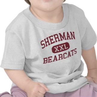 Sherman - Bearcats - segundo grau - Sherman Texas T-shirt