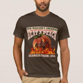 """Sherman """"calor camisa da excursão de um pêssego"""""""