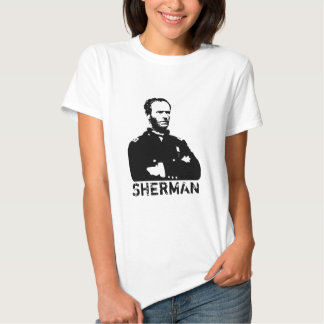 Sherman -- Preto e branco T-shirt
