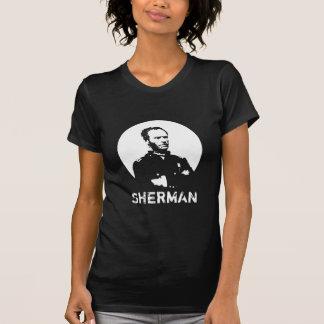 Sherman -- Preto e branco T-shirts