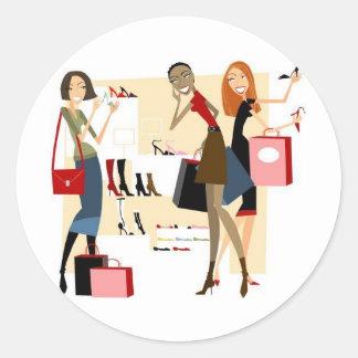Shopaholic Adesivo