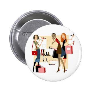 Shopaholic Botons