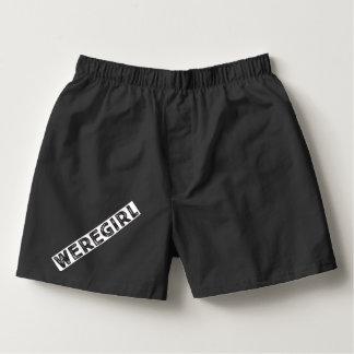 Shorts de Weregirl Samba-canção