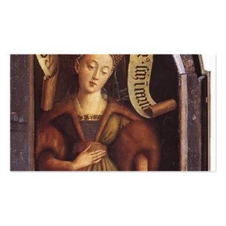 Sibyl de janeiro camionete Eyck- Cumaean Cartao De Visita