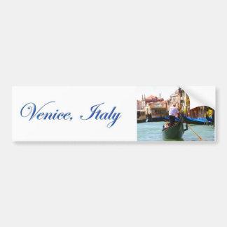 Sightseeing pela gôndola Veneza Italia Adesivo Para Carro
