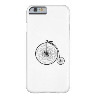 sihouette do símbolo da bicicleta da antiguidade capa barely there para iPhone 6