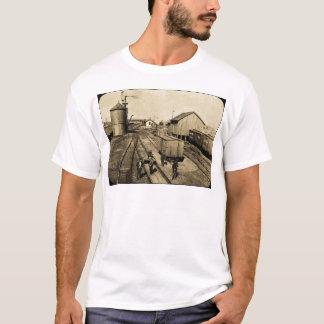 Sílex e estrada de ferro de Pere Marquette Tshirts