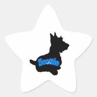 Silhueta Adesivos Em Forma De Estrelas