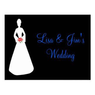 Silhueta da noiva mim