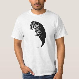 Silhueta de corvo tshirt