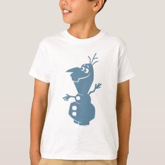 Silhueta de Olaf | T-shirt
