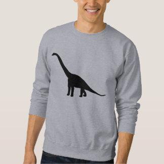 Silhueta do Brontosaurus do dinossauro Moletom