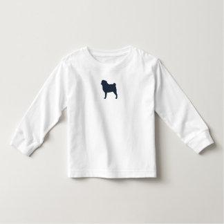 Silhueta do Pug Tshirt