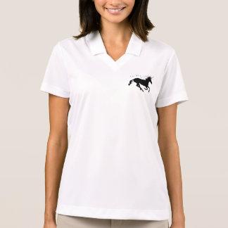 Silhueta do unicórnio camisa polo
