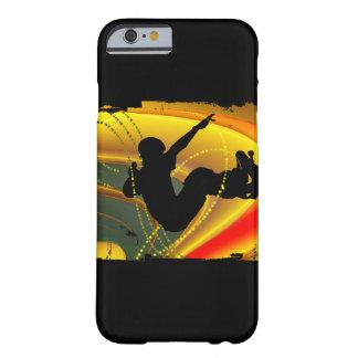 Silhueta Skateboarding na bacia Capa Barely There Para iPhone 6