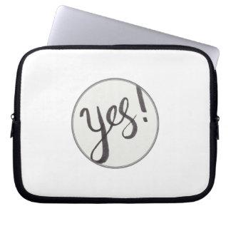 SIM! A bolsa de laptop do neopreno 10 polegadas Capas Para Computadores