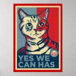 Sim nós podemos temos o impressão de LOLCAT