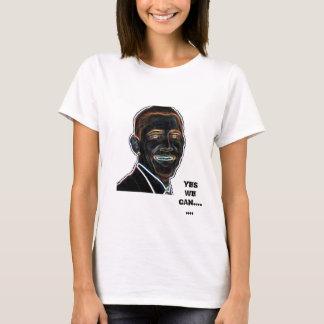 Sim nós podemos tshirt de Obama