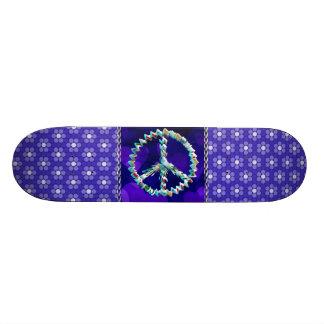 Símbolo da arte da paz skate boards