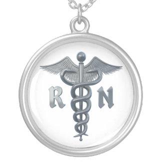 Símbolo da enfermeira diplomada pingentes