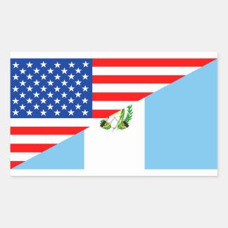 símbolo de América da bandeira do país dos EUA Adesivo Retangular