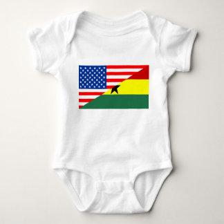 símbolo de América da bandeira do país dos EUA Body Para Bebê