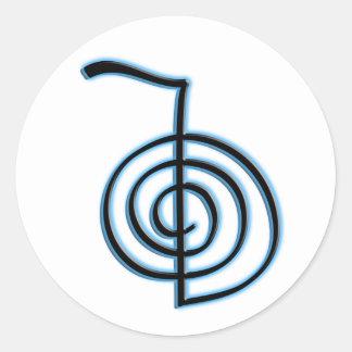Símbolo de Cho Ku Rei Reiki Adesivo