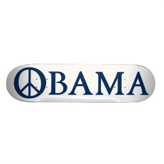 Símbolo de paz de Obama Shape De Skate 18,1cm