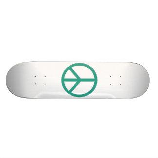 símbolo de paz shape de skate 20cm