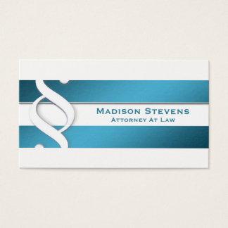 Símbolo do advogado do advogado do advogado cartão de visitas