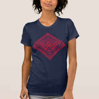 Símbolo do Amazonas da mulher maravilha T-shirt