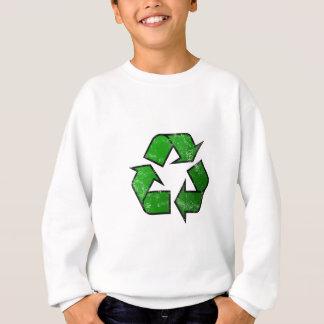 Símbolo do reciclar & reusar - salvar o planeta t-shirts