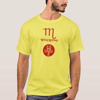Símbolo do zodíaco da ESCORPIÃO Camiseta