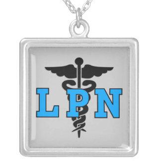Símbolo médico de LPN Colar