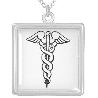 Símbolo médico do Caduceus Bijuterias Personalizadas
